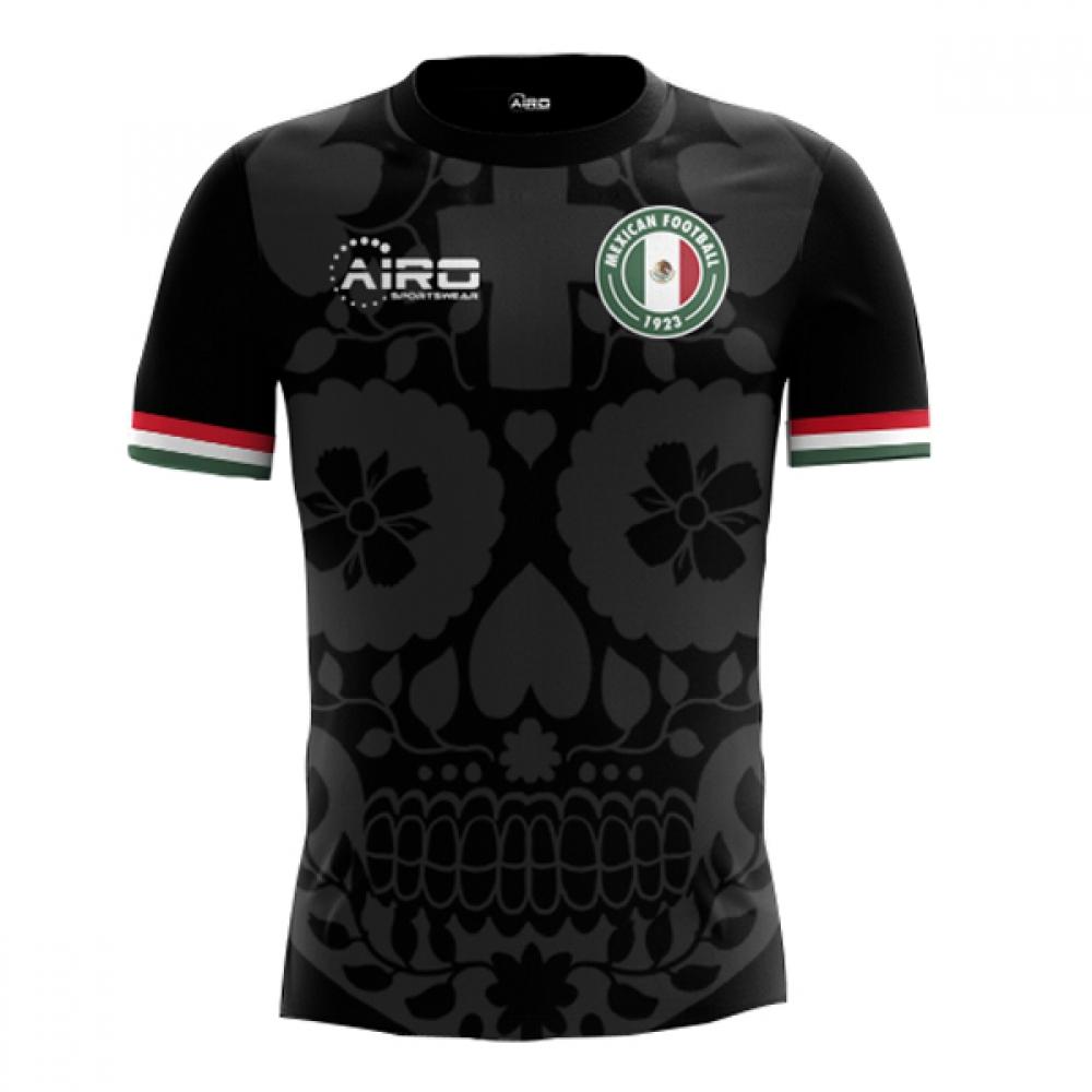 2018-2019 Mexico Third Concept Football Shirt  MEXICO3  - Uksoccershop cec559629