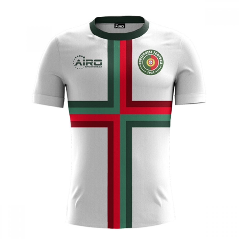 new style 6ce0e 8744c 2018-2019 Portugal Away Concept Football Shirt