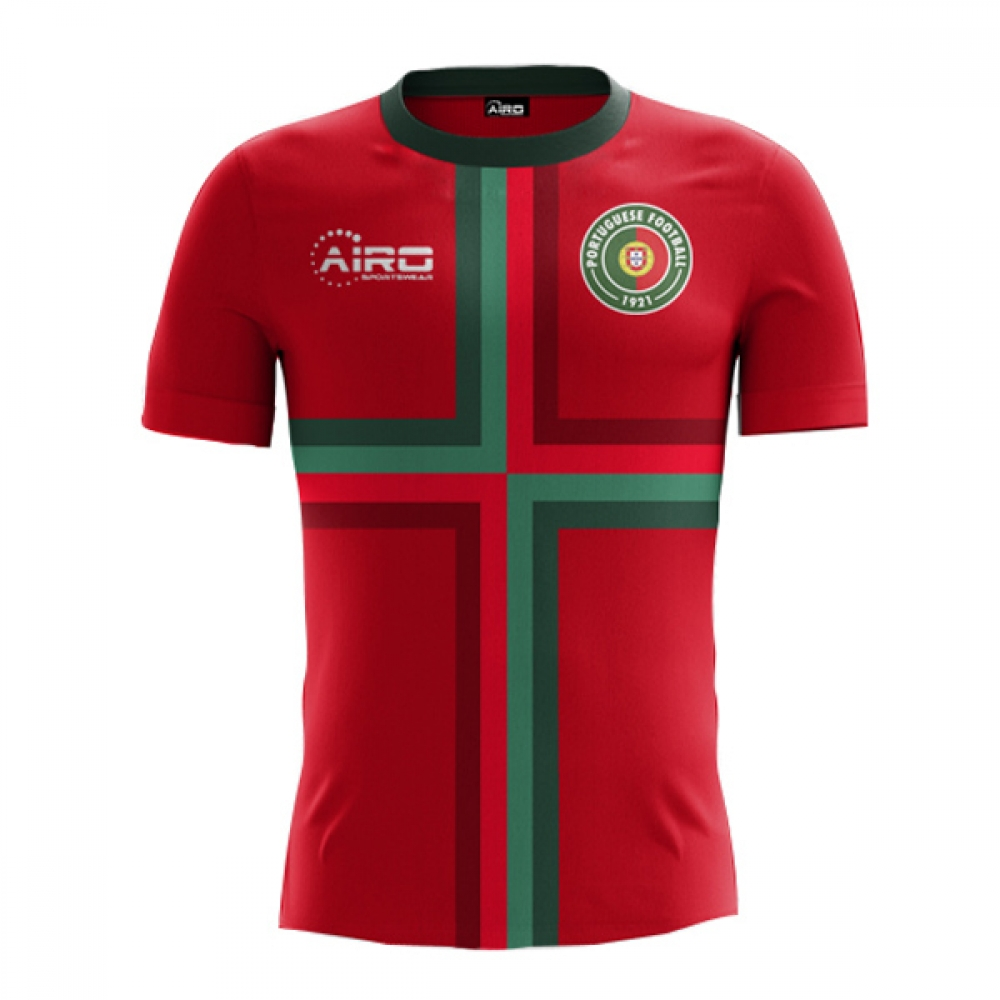 8976c96fca0 2018-2019 Portugal Home Concept Football Shirt [PORTUGALH] - Uksoccershop