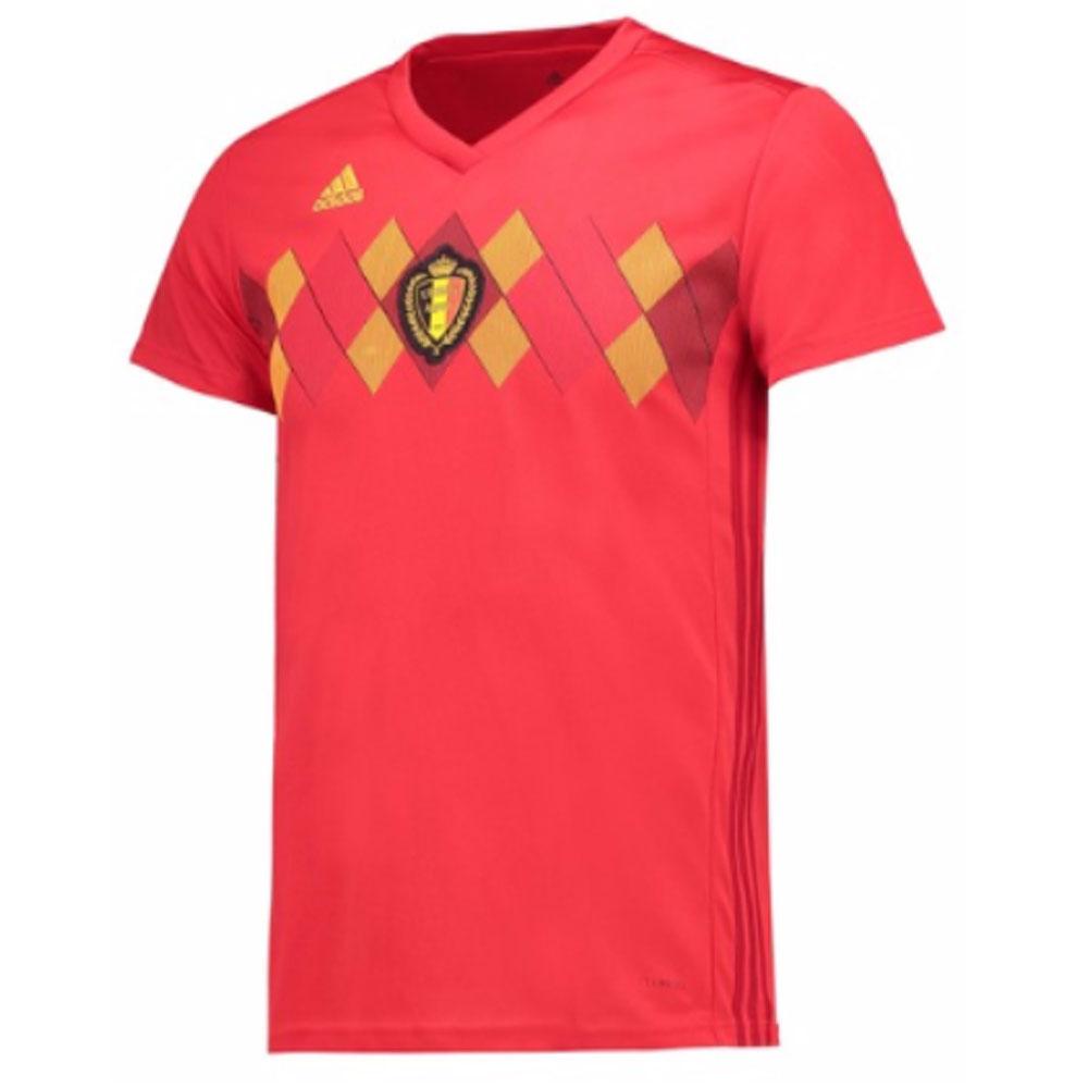 2018-2019 Belgium Home Adidas Womens Shirt  CW5298  - Uksoccershop be26c1824