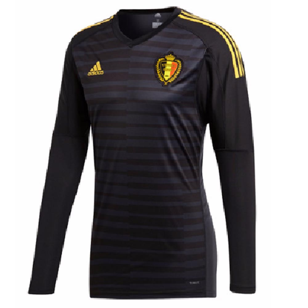 92208cd51 2018-2019 Belgium Home Adidas Goalkeeper Shirt  CD6169  - Uksoccershop