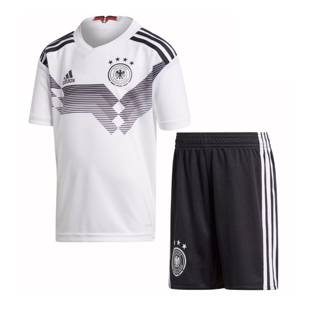 34f37a779599 2018-2019 Germany Home Adidas Mini Kit
