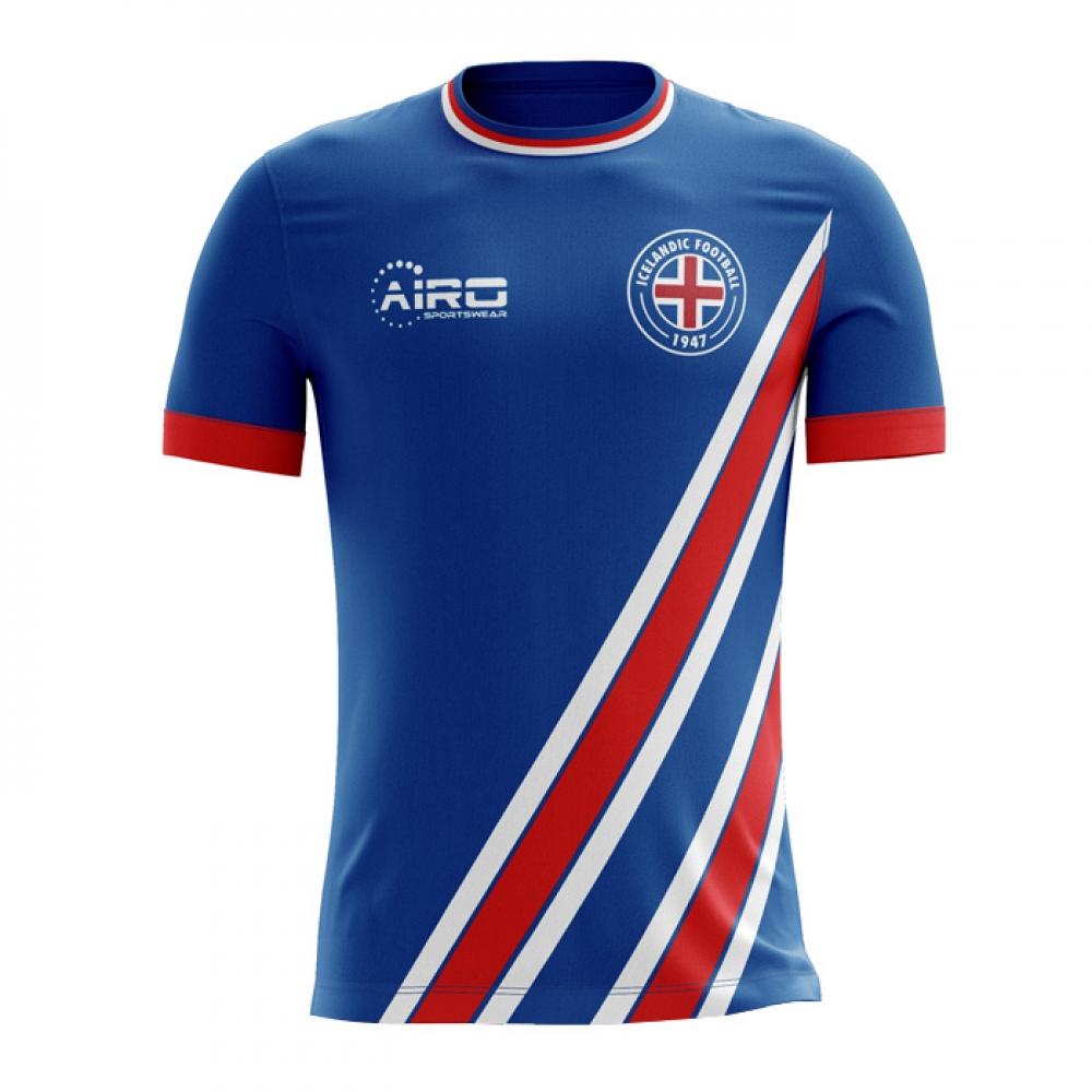 6402ae137 2018-2019 Iceland Home Concept Football Shirt (Kids)  ICELANDHKIDS  -  Uksoccershop