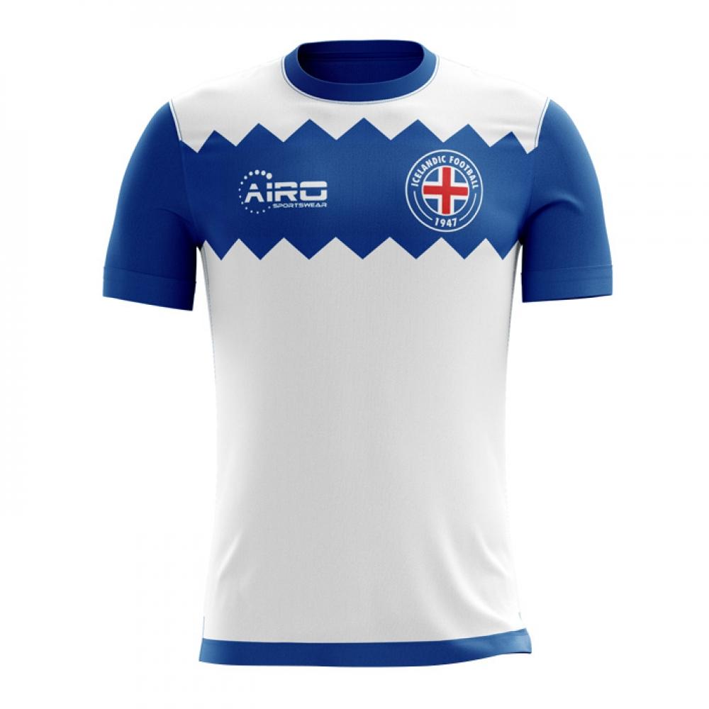 the latest dd61f 62fe0 2018-19 Iceland Away Concept Football Shirt