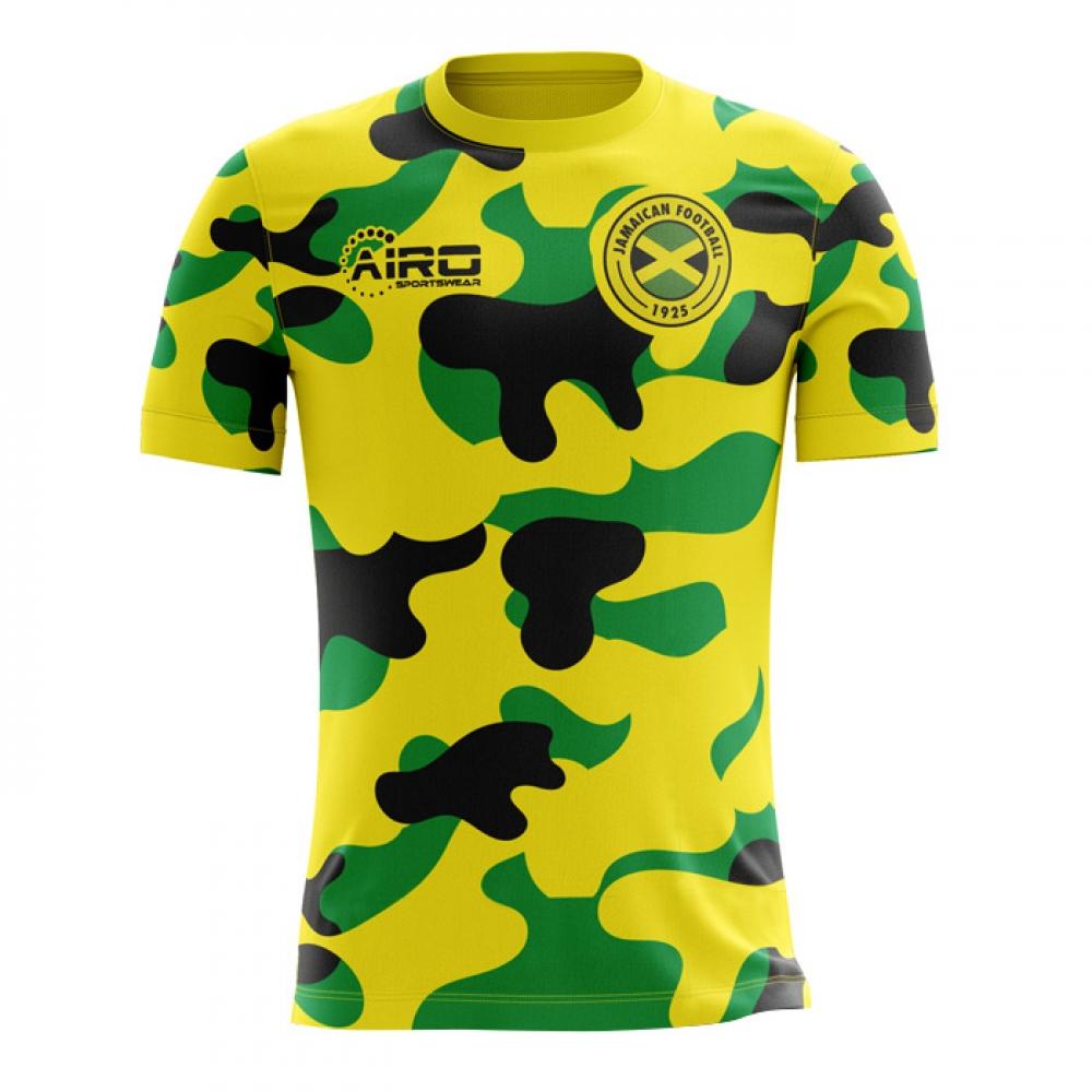 03a4485867f 2018-2019 Jamaica Home Concept Football Shirt  JAMAICAH  - Uksoccershop