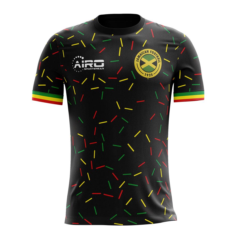 quality design cafcd b8112 2018-2019 Jamaica Third Concept Football Shirt