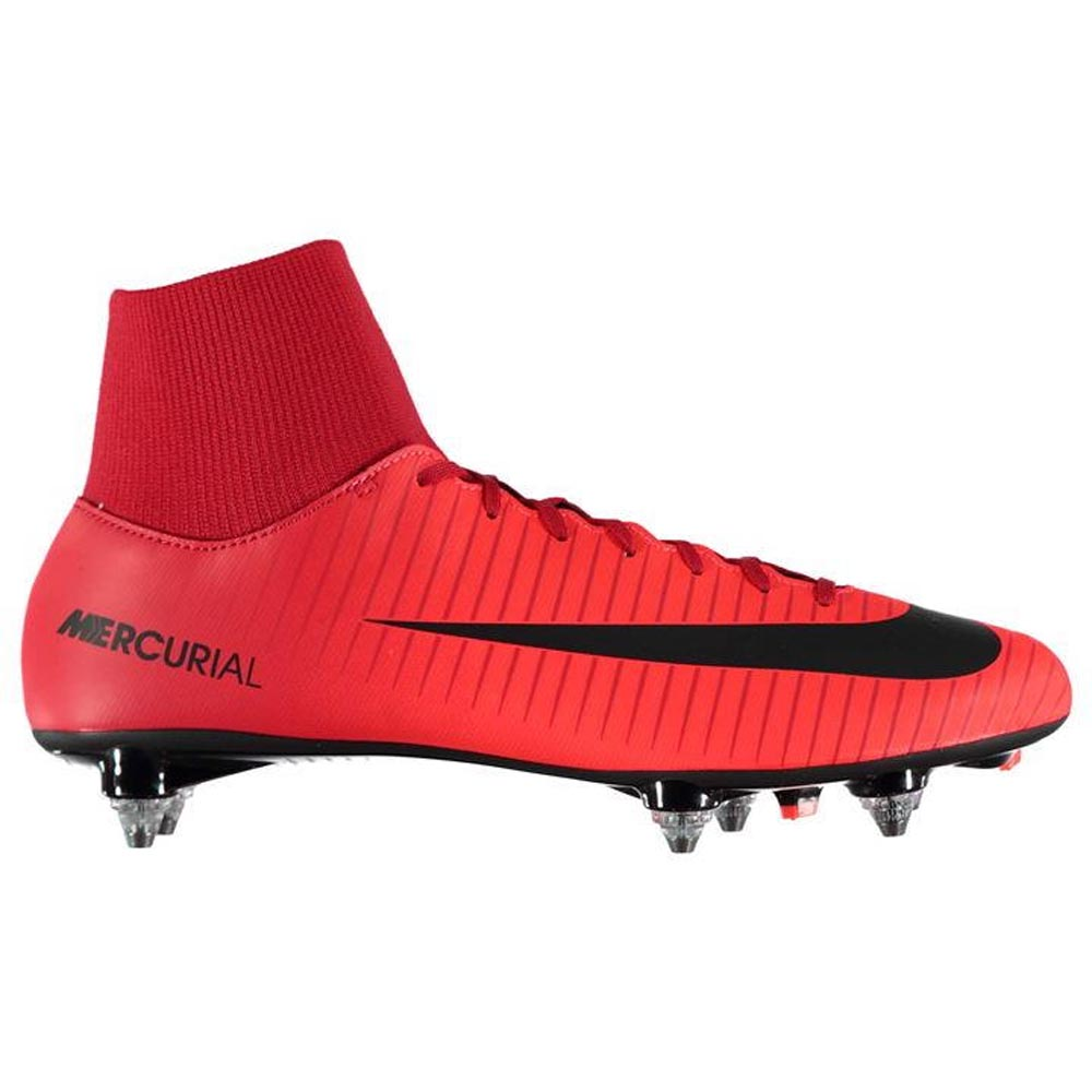 17bd332f073 Nike Mercurial Victory DF Mens SG Football Boots (Red)    - Uksoccershop