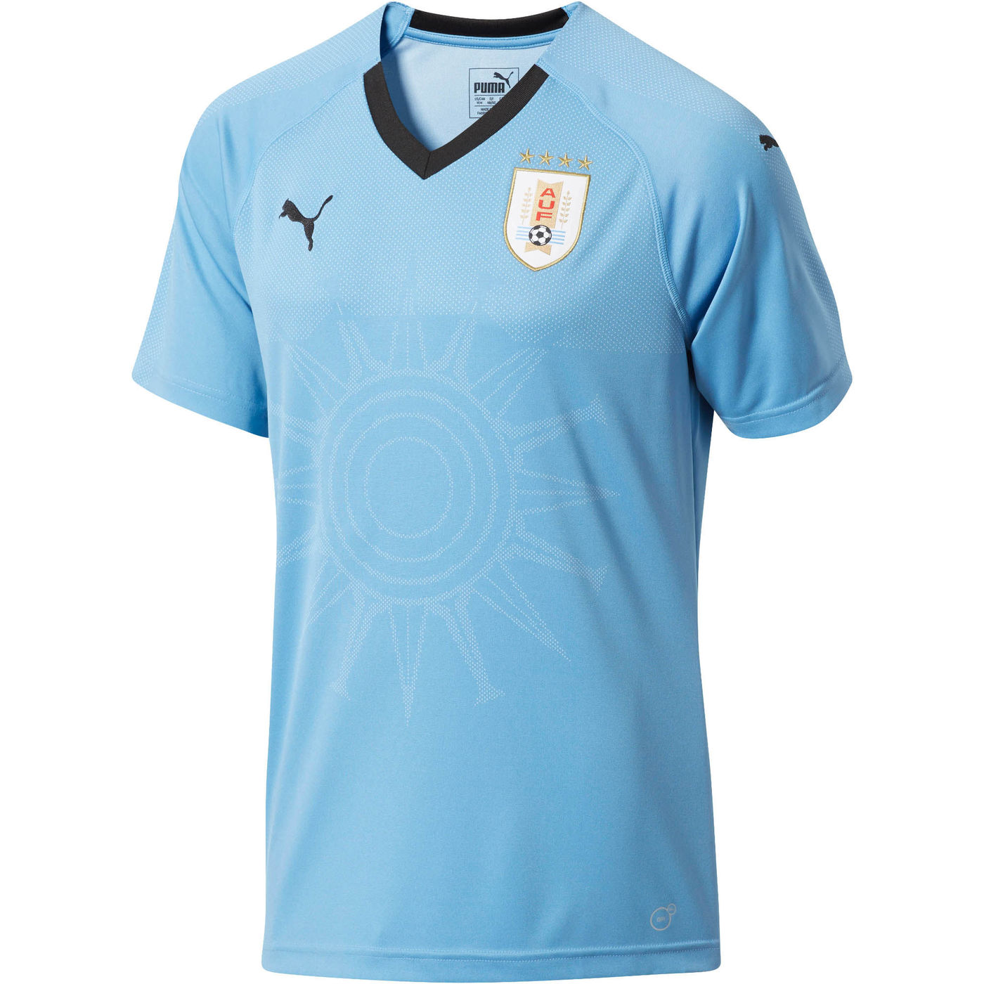 super popular ec58c 9a4e2 2018-2019 Uruguay Home Puma Football Shirt