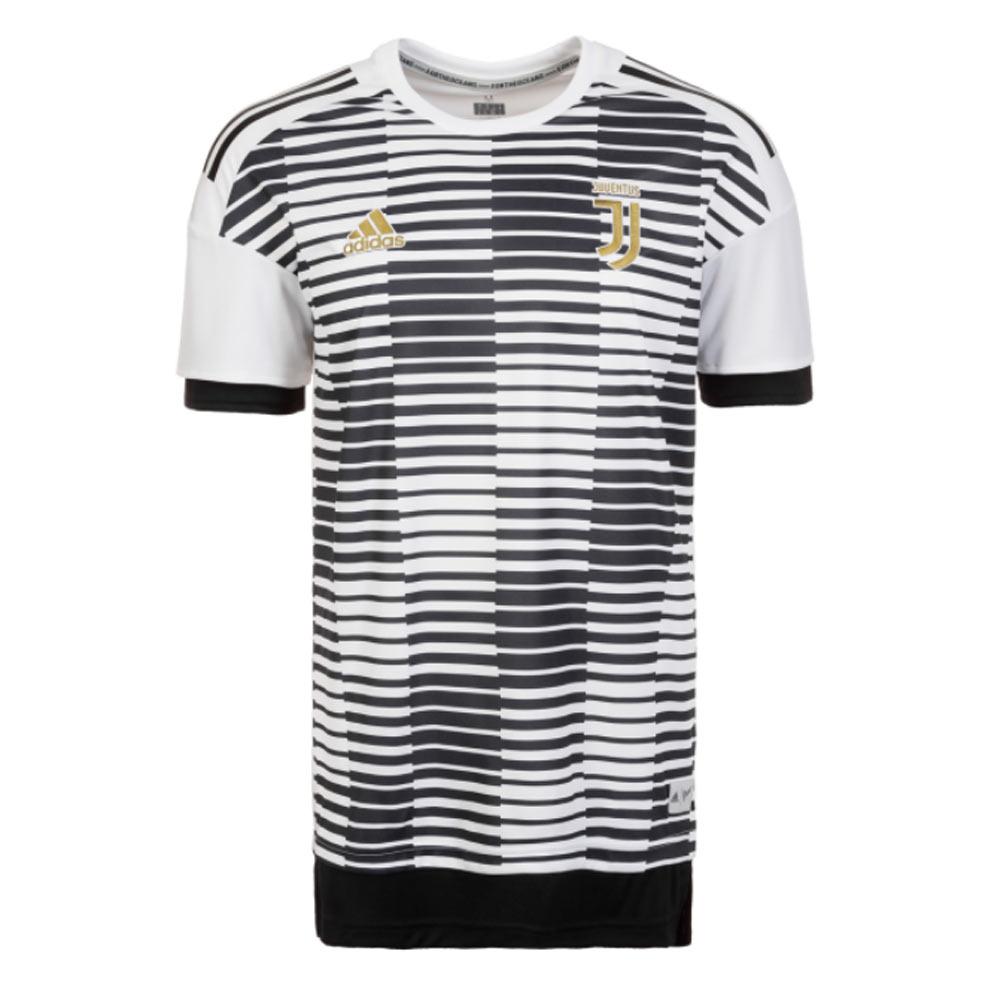 01f4f3af5 2017-2018 Juventus Adidas Pre-Match Training Shirt (White-Black)  CF1572  -  Uksoccershop