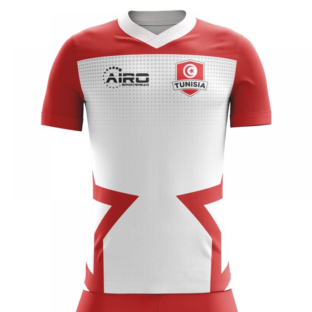 a08153e9f 2018-2019 Tunisia Home Concept Football Shirt [TUNISIAH] - Uksoccershop