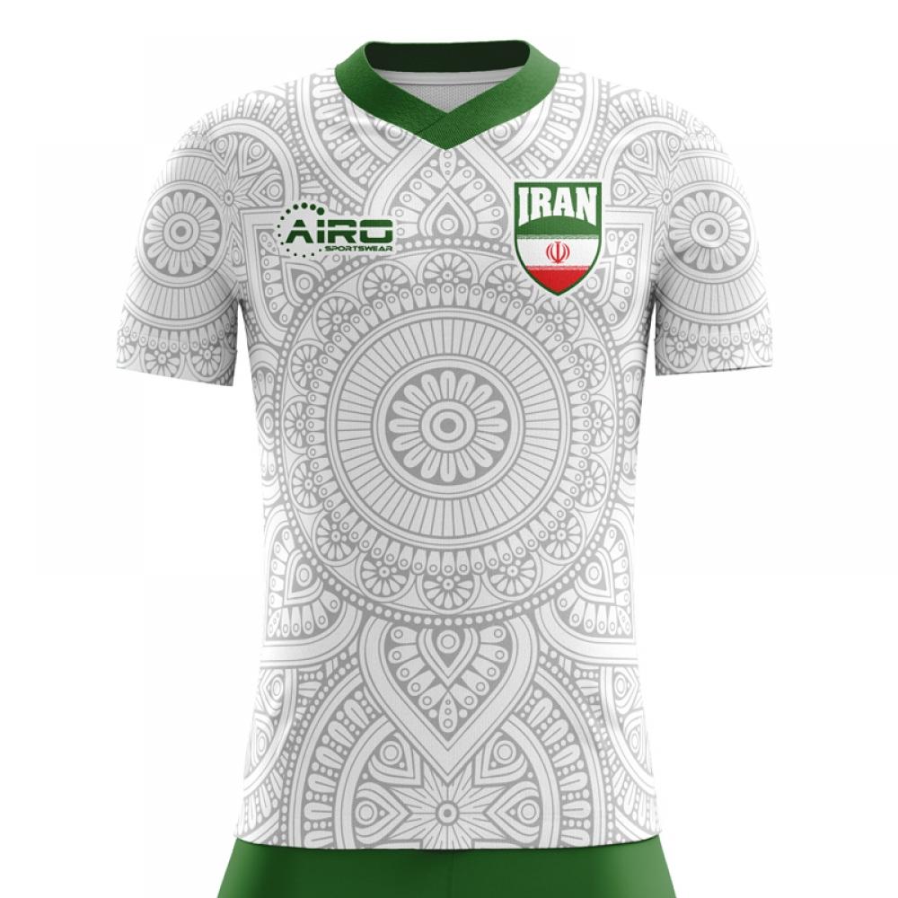 2020-2021 Iran Home Concept Football Shirt