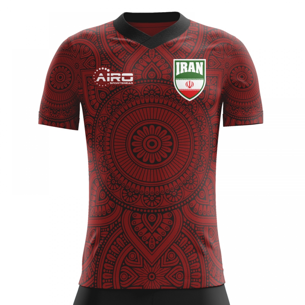 2020-2021 Iran Away Concept Football Shirt