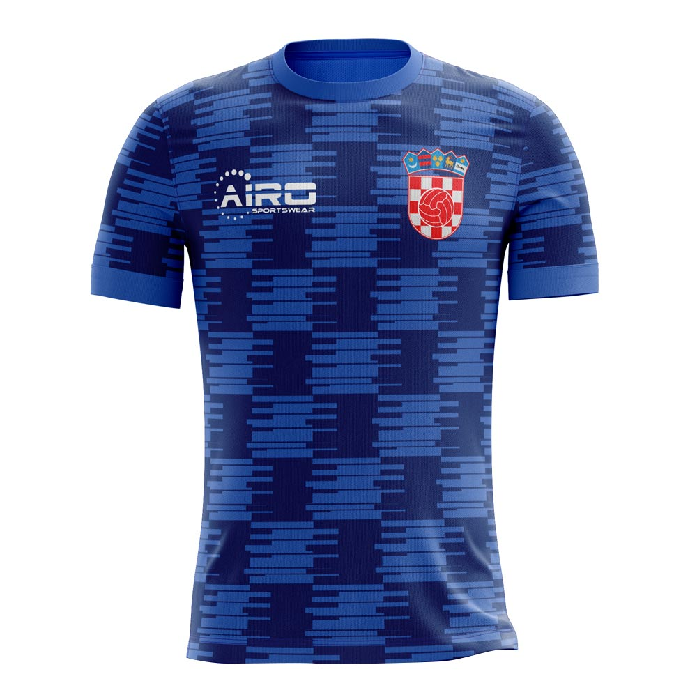 2018-2019 Croatia Away Concept Football Shirt  CROATIAA  - Uksoccershop b008a117e