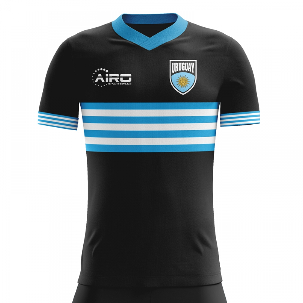 2020-2021 Uruguay Away Concept Football Shirt
