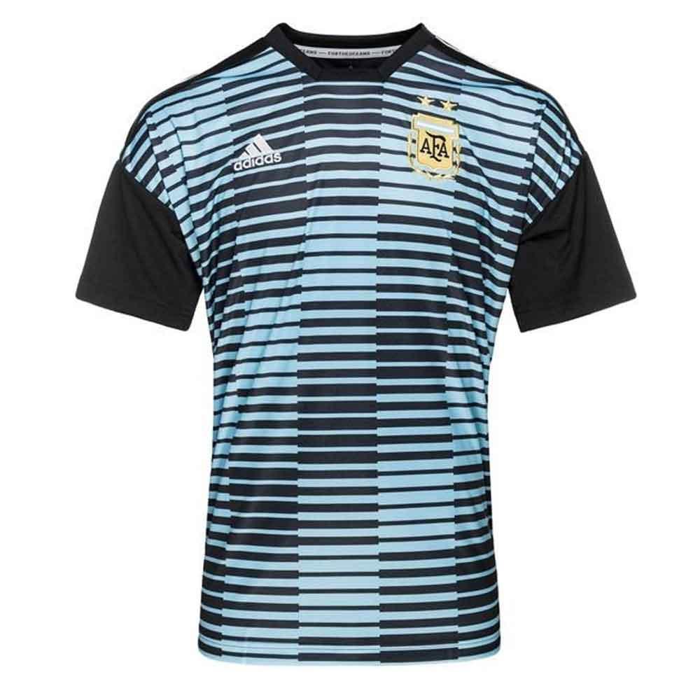 e11c417f93a 2018-2019 Argentina Adidas Pre-Match Shirt (Blue)  CF1546  - Uksoccershop
