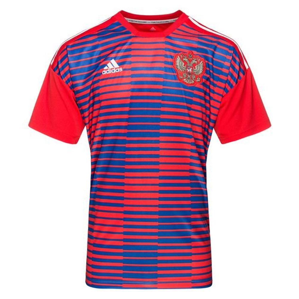 8f6bdf58fa1 2018-2019 Russia Adidas Pre-Match Shirt (Red) [CF1555] - Uksoccershop