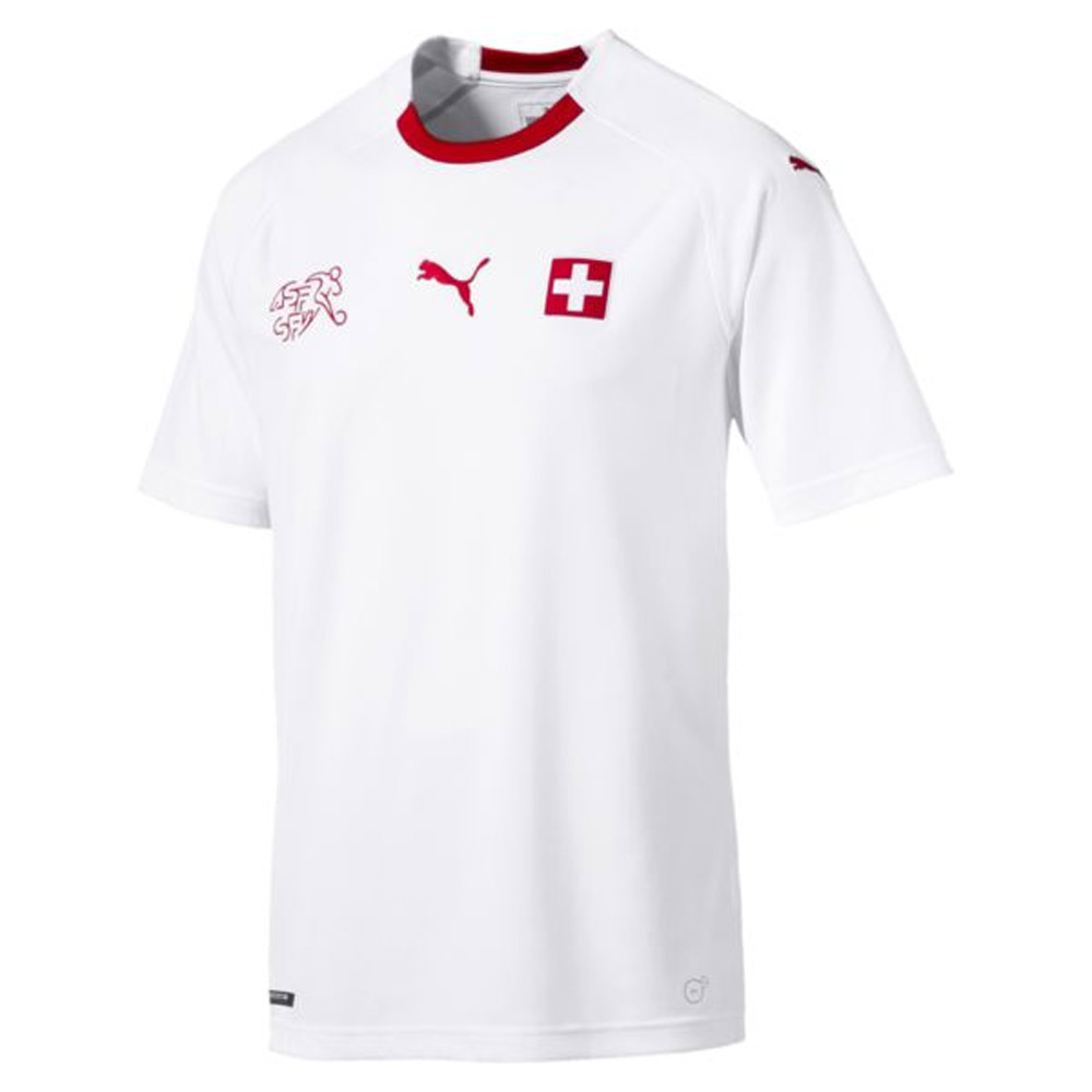 quality design 705d7 e3478 2018-2019 Switzerland Away Puma Football Shirt