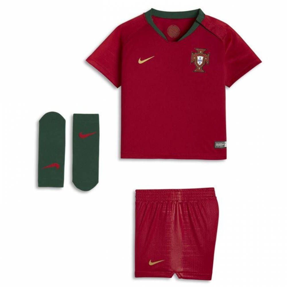 newest 77514 e1686 2018-2019 Portugal Home Nike Baby Kit