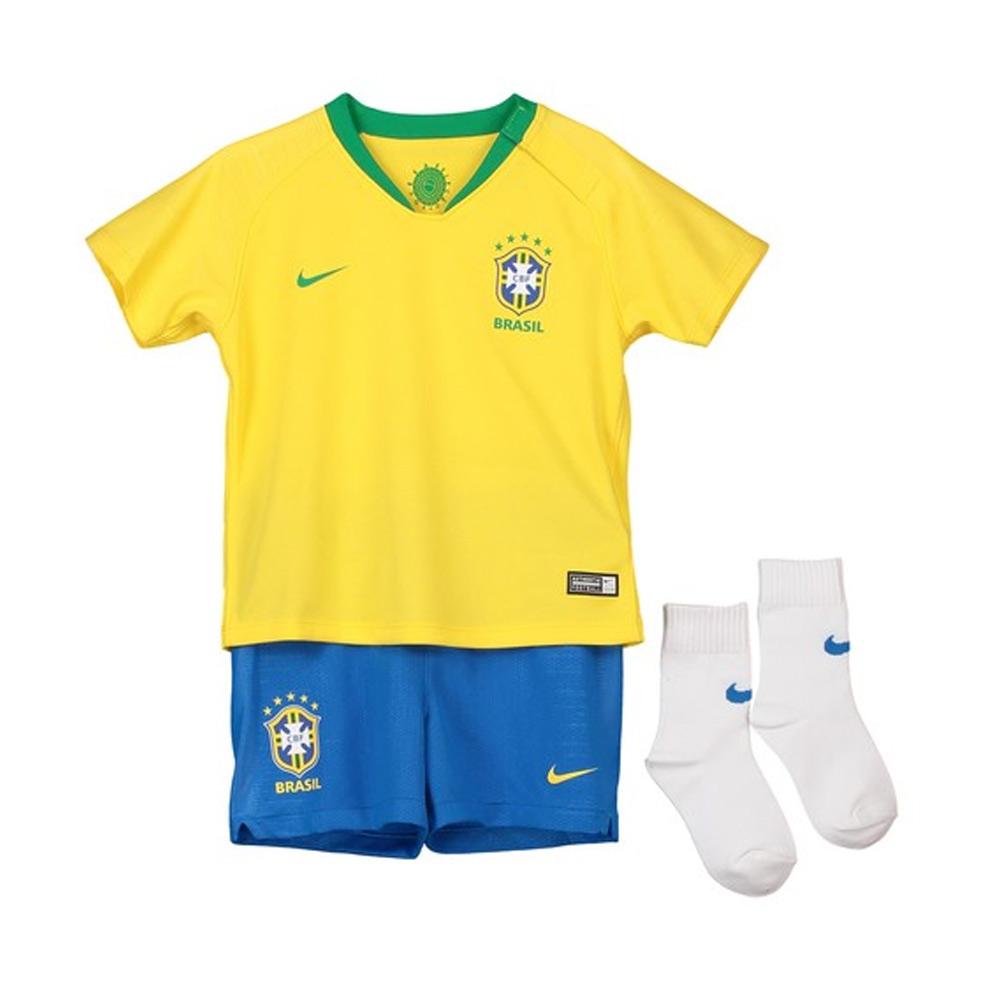 d8cb04807 2018-2019 Brazil Home Nike Baby Kit  894052-749  - Uksoccershop