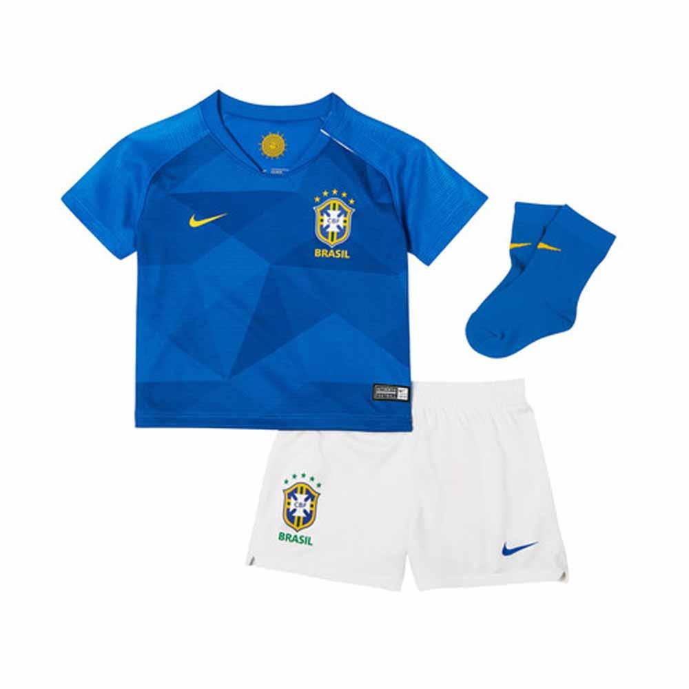 a6499989b 2018-2019 Brazil Away Nike Baby Kit  894051-453  - Uksoccershop