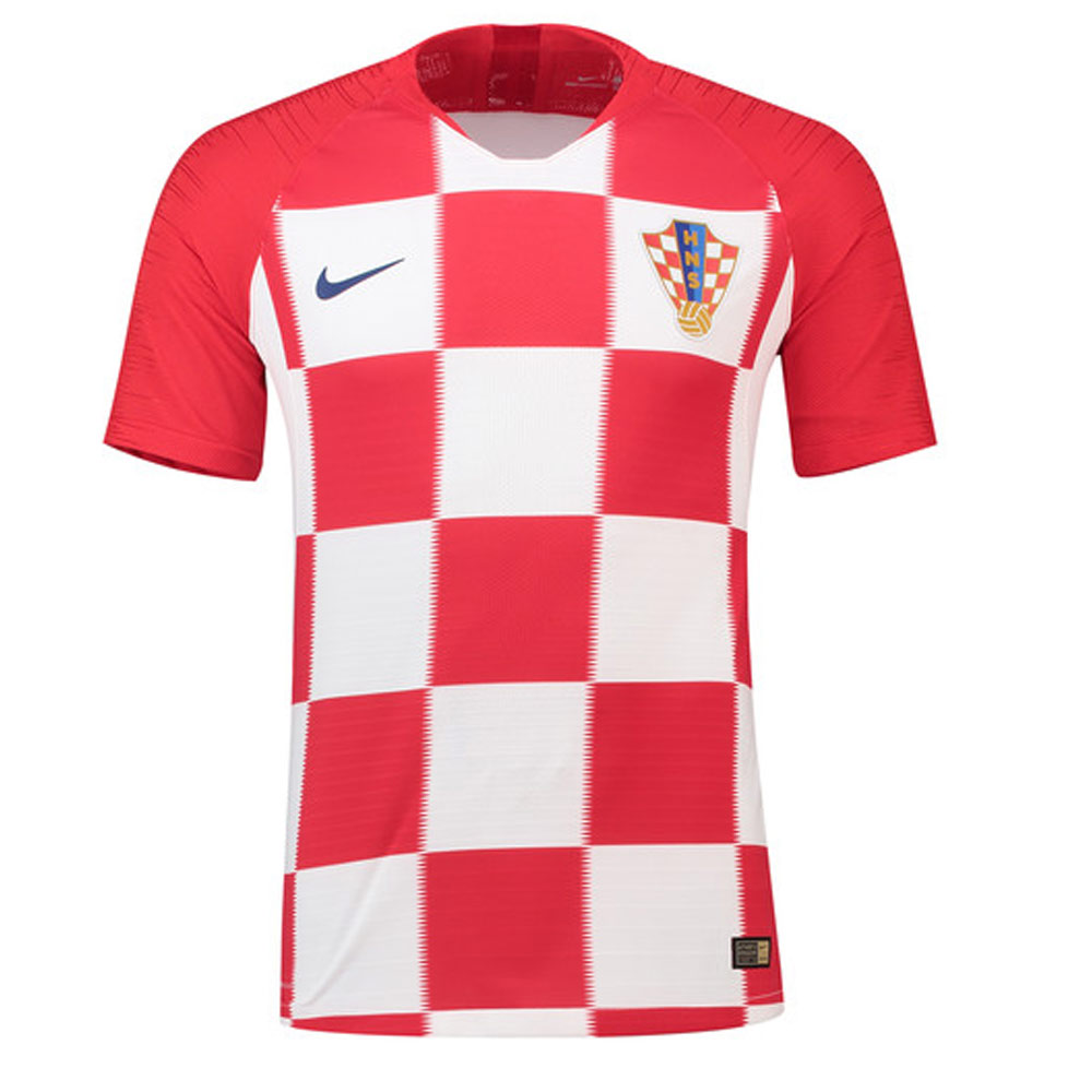 2018-2019 Croatia Home Nike Vapor Match Shirt