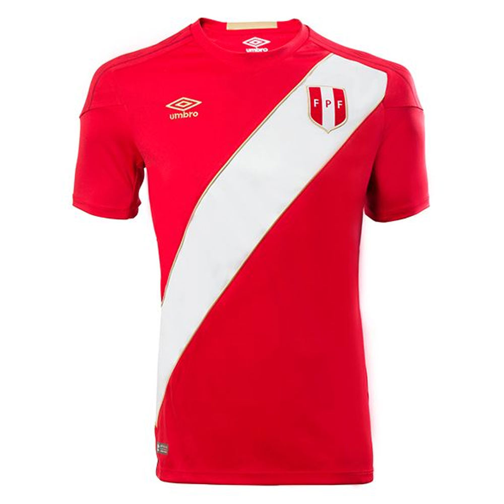 2018-2019 Peru Away Umbro Football Shirt