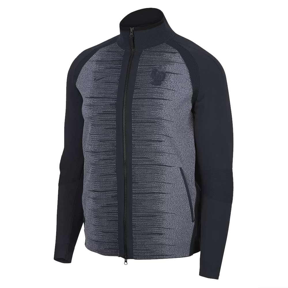2018-2019 France Nike Tech Knit Jacket (Obsidian)