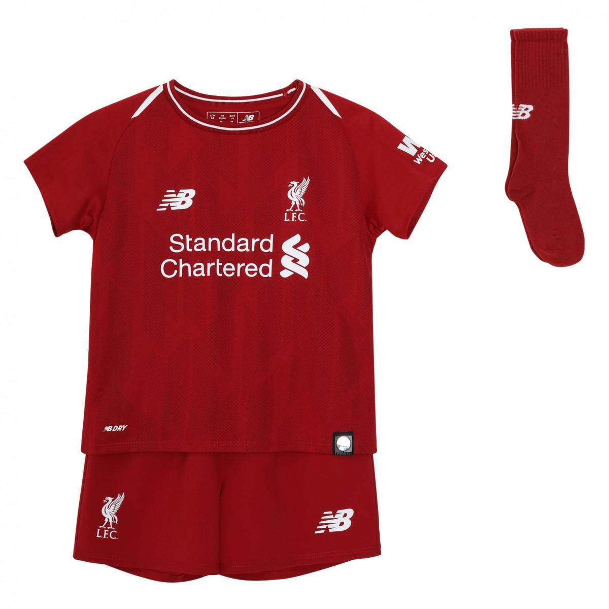 abc448f2b 2018-2019 Liverpool Home Little Boys Mini Kit  IY830039  - Uksoccershop