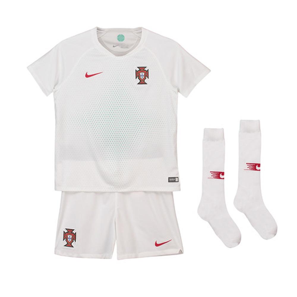3edbe2752c0 2018-2019 Portugal Away Nike Mini Kit  894044-100  - Uksoccershop