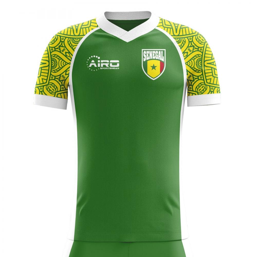online store cc09f ded32 2018-2019 Senegal Away Concept Football Shirt