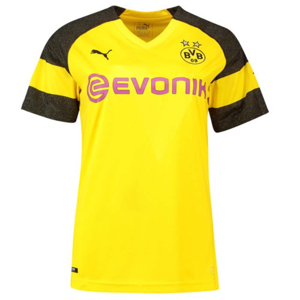 the best attitude 9d33b 10406 2018-2019 Borussia Dortmund Home Ladies Puma Shirt