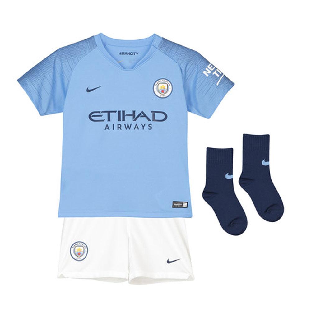 8f22c73144e 2018-2019 Man City Home Nike Baby Kit  894486-489  - Uksoccershop