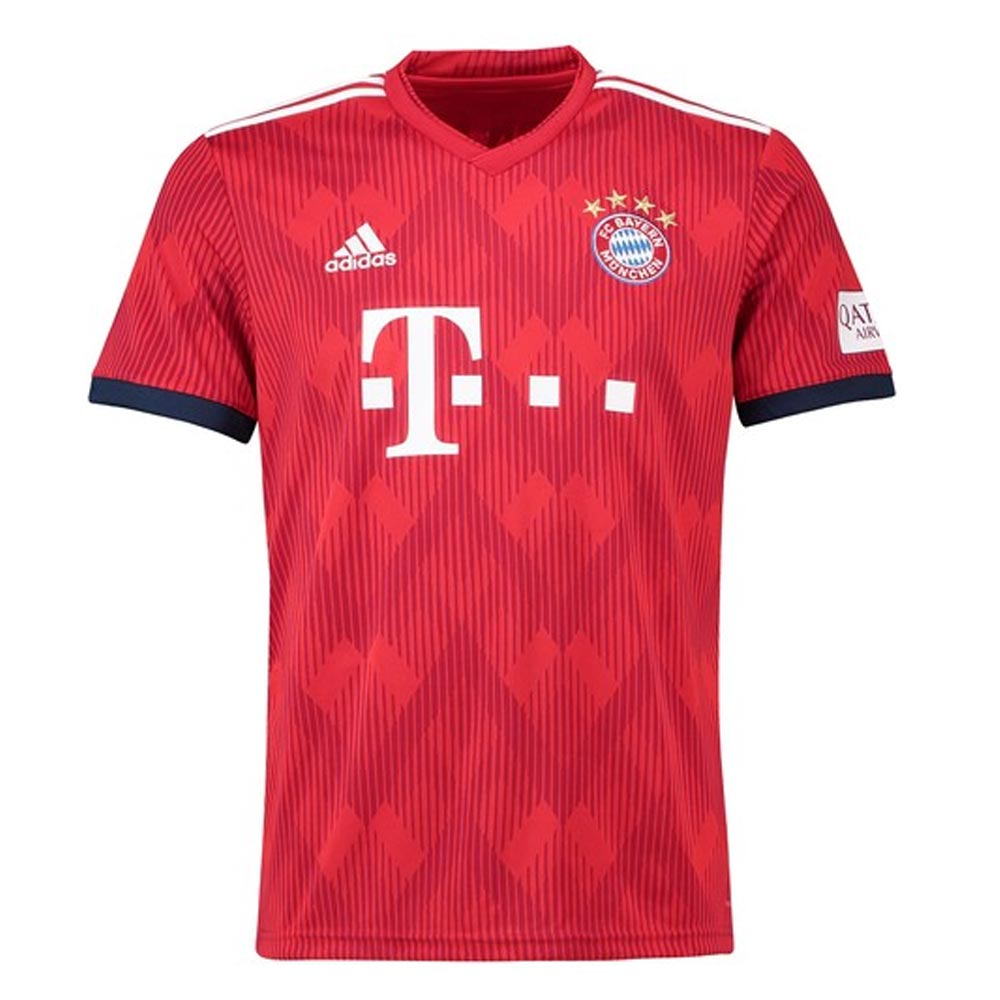 2018-2019 Bayern Munich Adidas Home Football Shirt Adidas