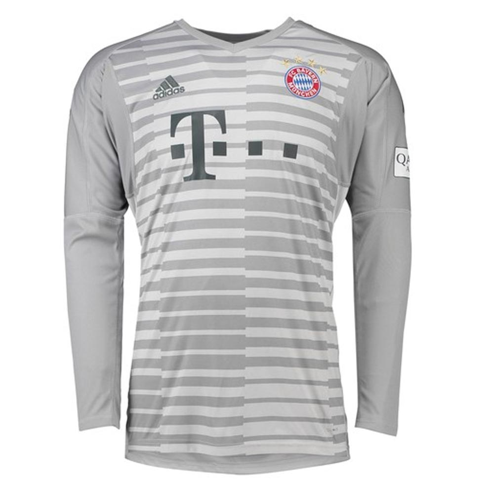competitive price cce6d a654a 2018-2019 Bayern Munich Home Adidas Goalkeeper Shirt