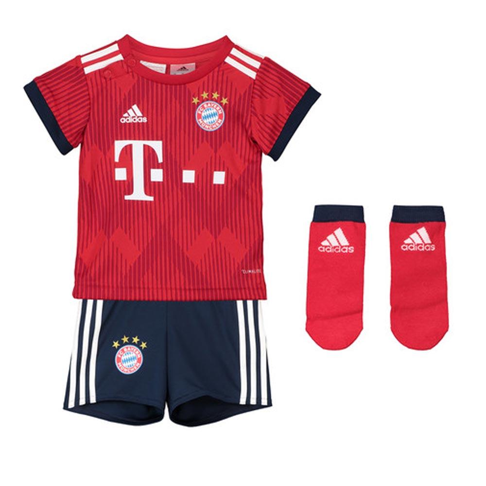 the best attitude 643ff e2136 2018-2019 Bayern Munich Adidas Home Baby Kit
