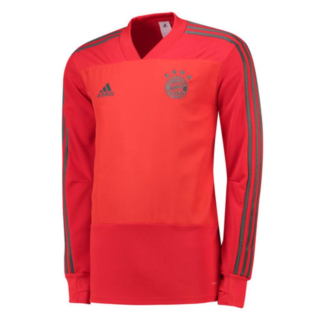 size 40 91f39 1c282 2018-2019 Bayern Munich Adidas Training Top (Red)