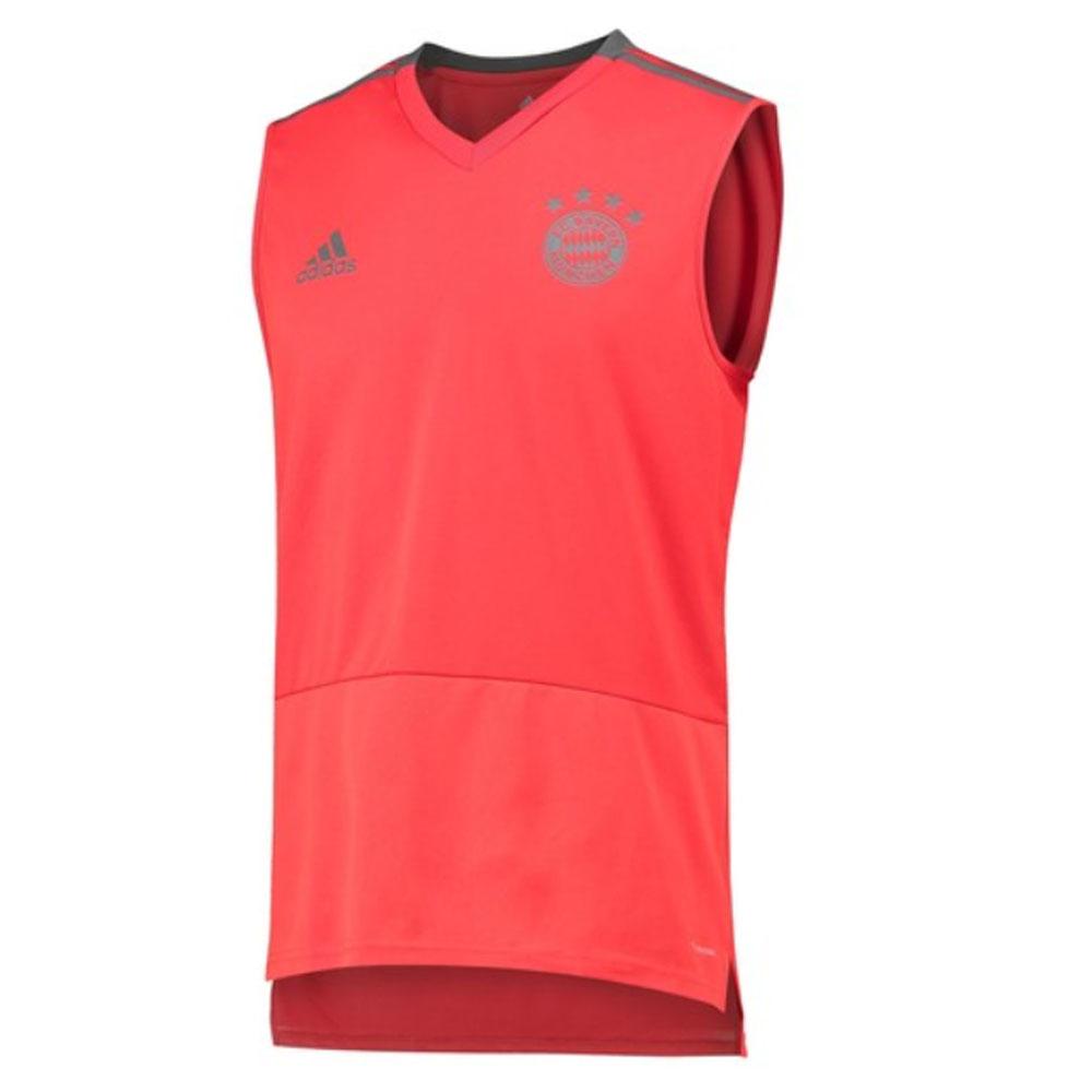 separation shoes 89e48 e11c2 2018-2019 Bayern Munich Adidas Sleeveless Shirt (Red)