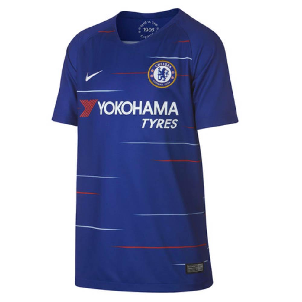 4897640cde6480 2018-2019 Chelsea Home Nike Football Shirt (Kids) [919252-496] -  Uksoccershop