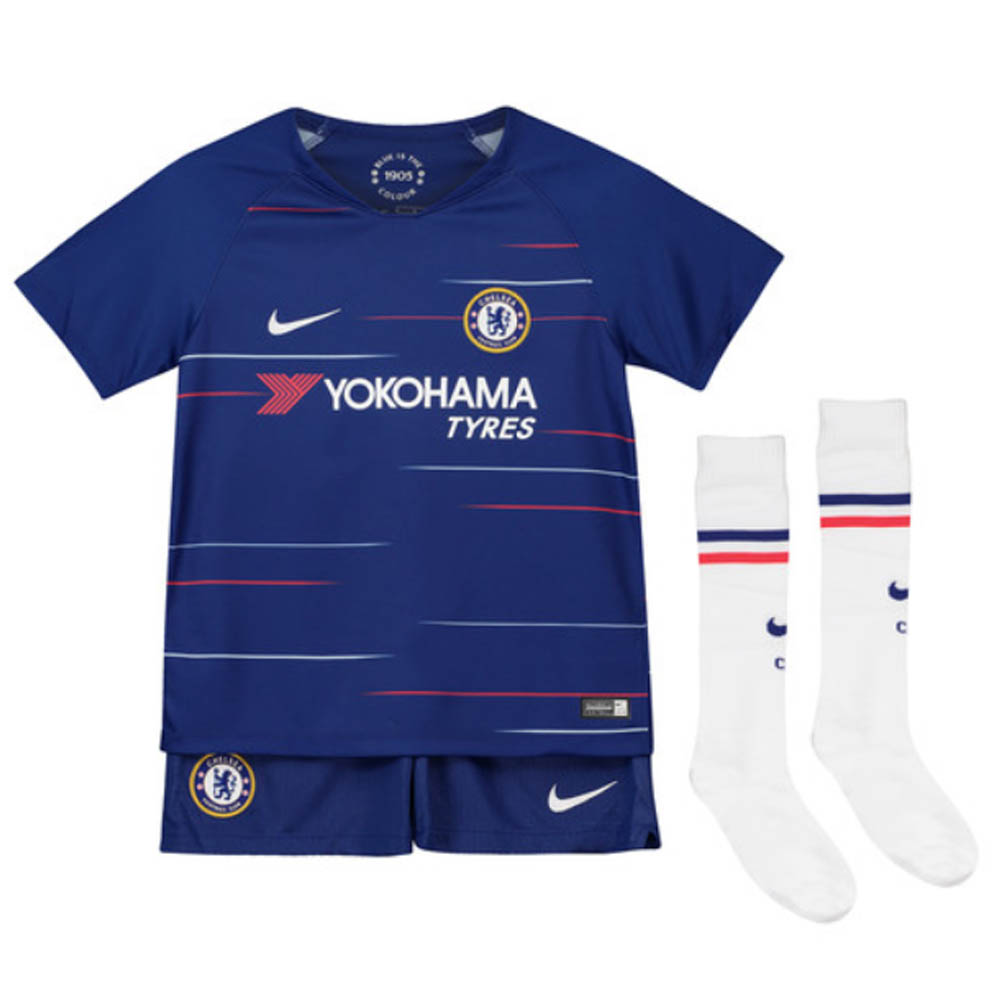 new style bb413 db638 2018-2019 Chelsea Home Nike Baby Kit