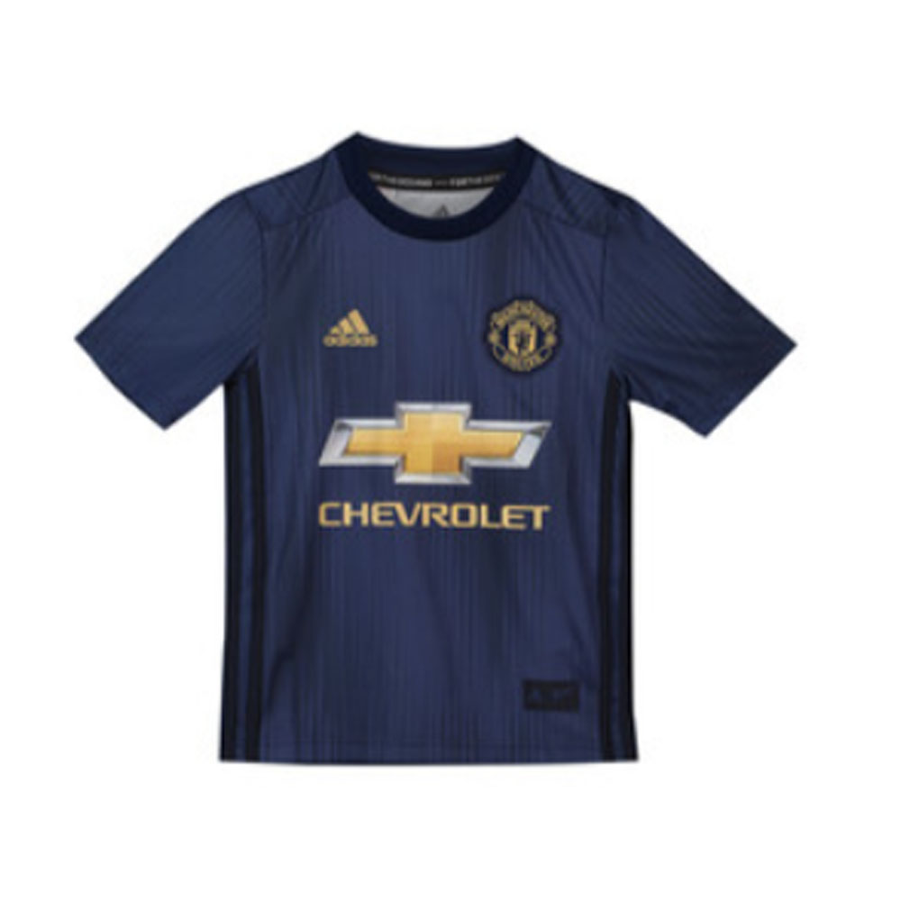 77c3785d0 2018-2019 Man Utd Adidas Third Football Shirt (Kids) [DP6017] - Uksoccershop