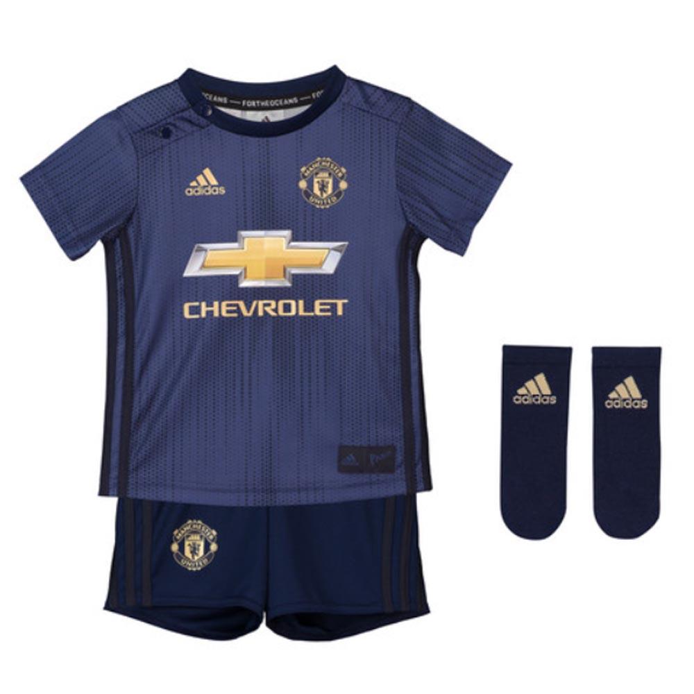 2018-2019 Man Utd Adidas Third Baby Kit  DP6019  - Uksoccershop 58256edc4