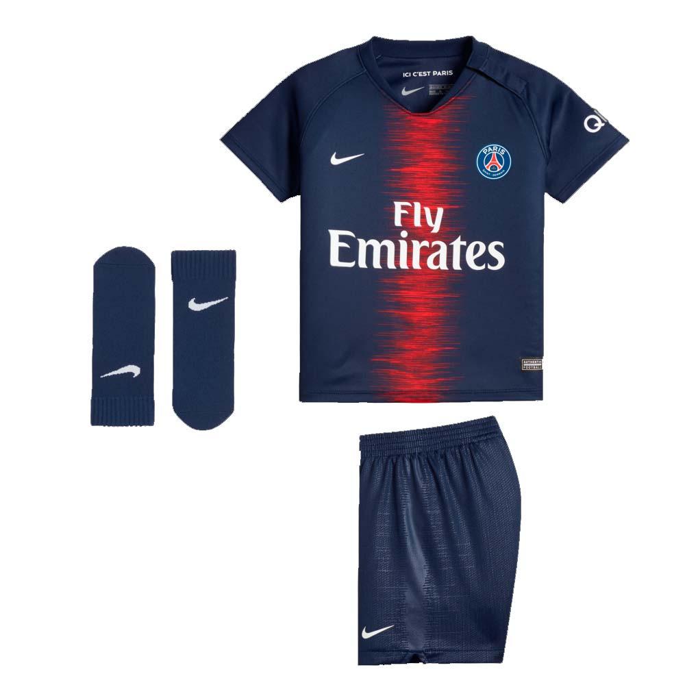 uk availability bf48c 568f9 2018-2019 PSG Home Nike Baby Kit
