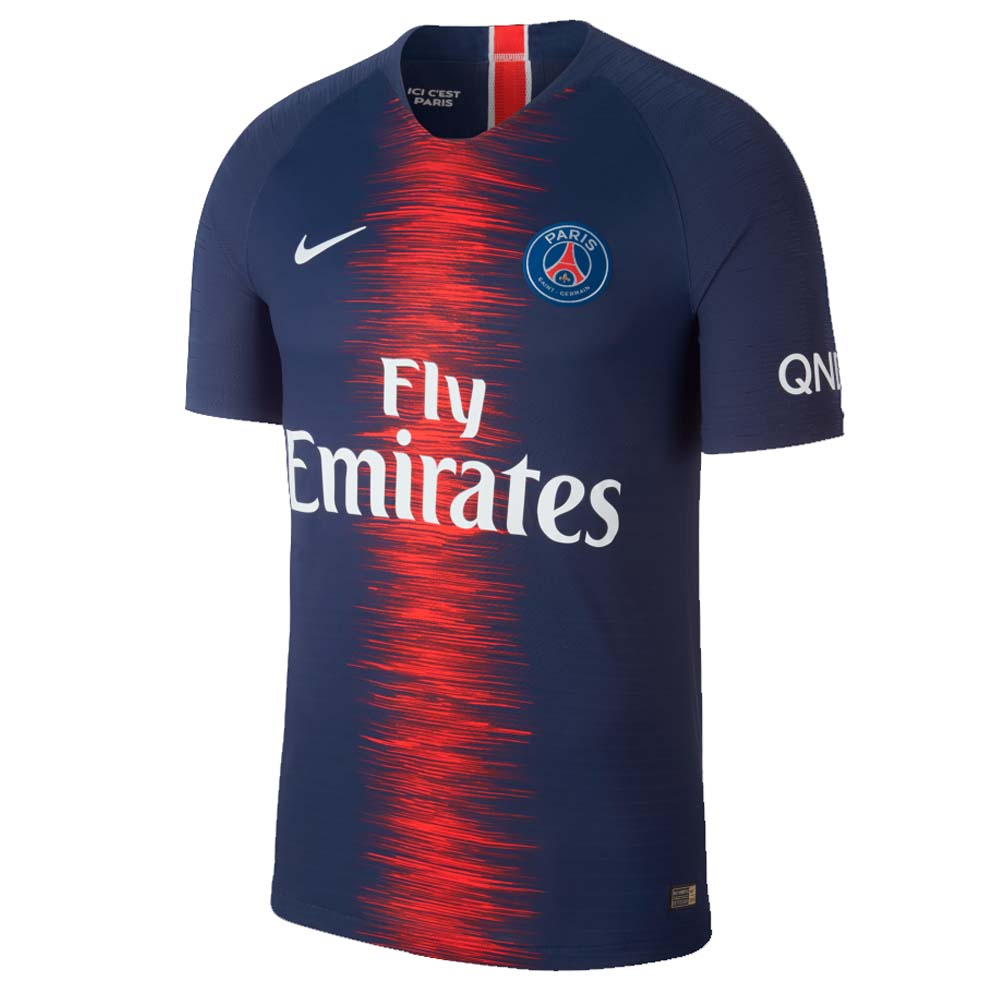 timeless design 16e4e 3057a 2018-2019 PSG Authentic Vapor Match Home Nike Shirt
