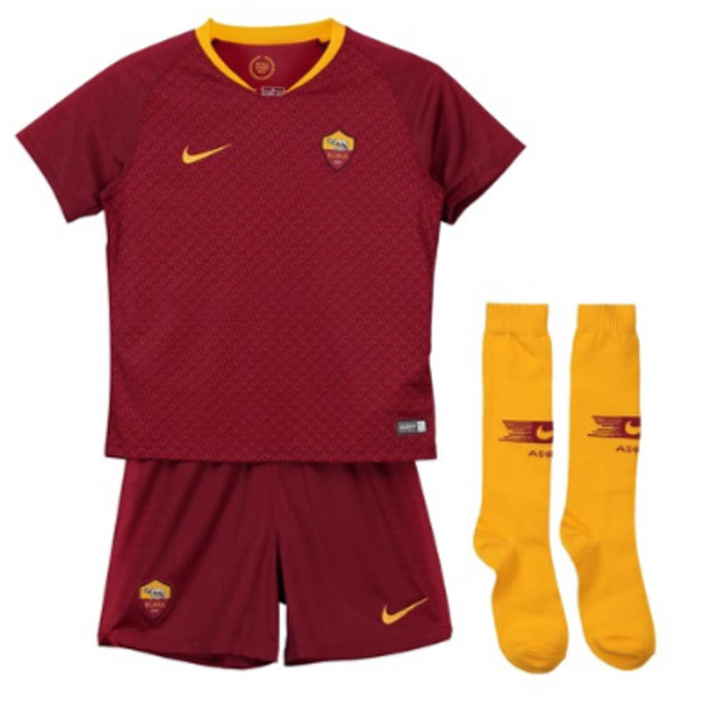 b5c008b6937 2018-2019 AS Roma Home Nike Infants Kit  919354-677  - Uksoccershop