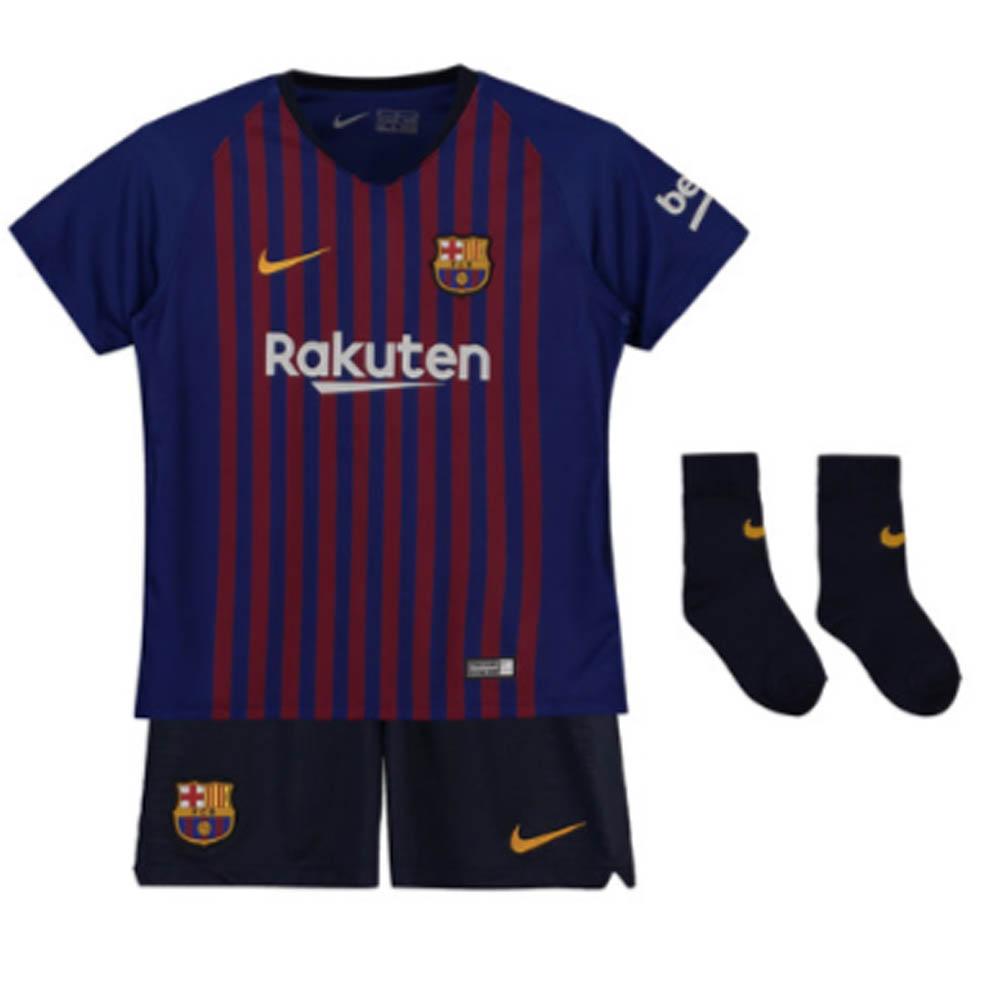 the latest 33629 85c8a 2018-2019 Barcelona Home Nike Baby Kit