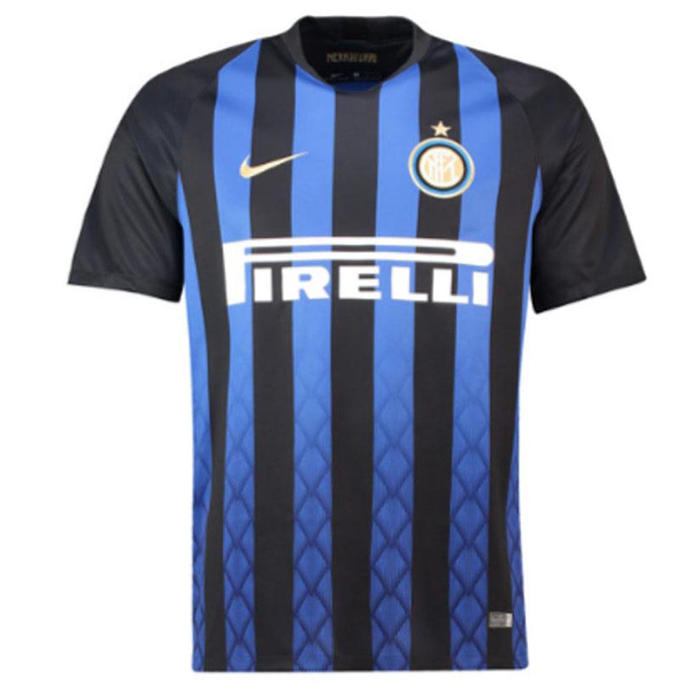 buy popular 02600 ace5c 2018-2019 Inter Milan Home Nike Football Shirt (Kids)