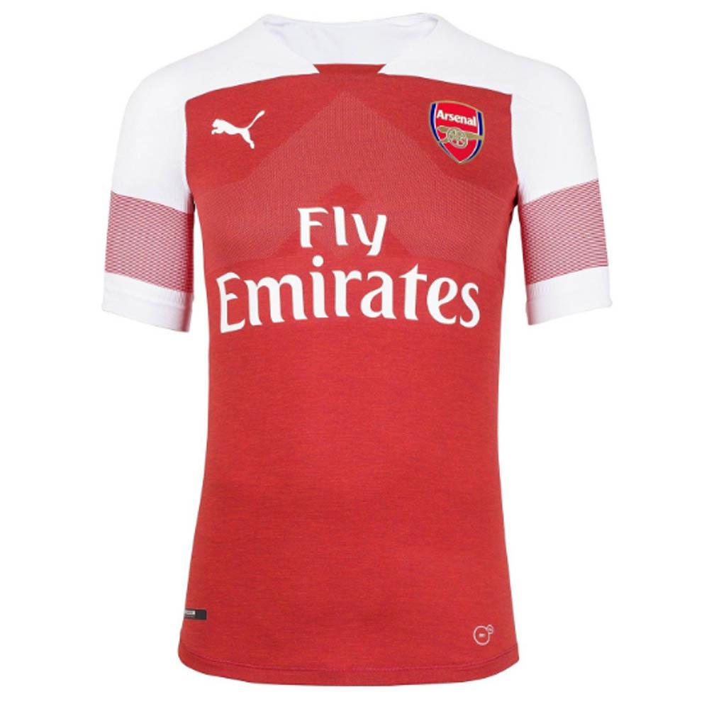 newest 6f460 ecc65 2018-2019 Arsenal Puma Home Football Shirt