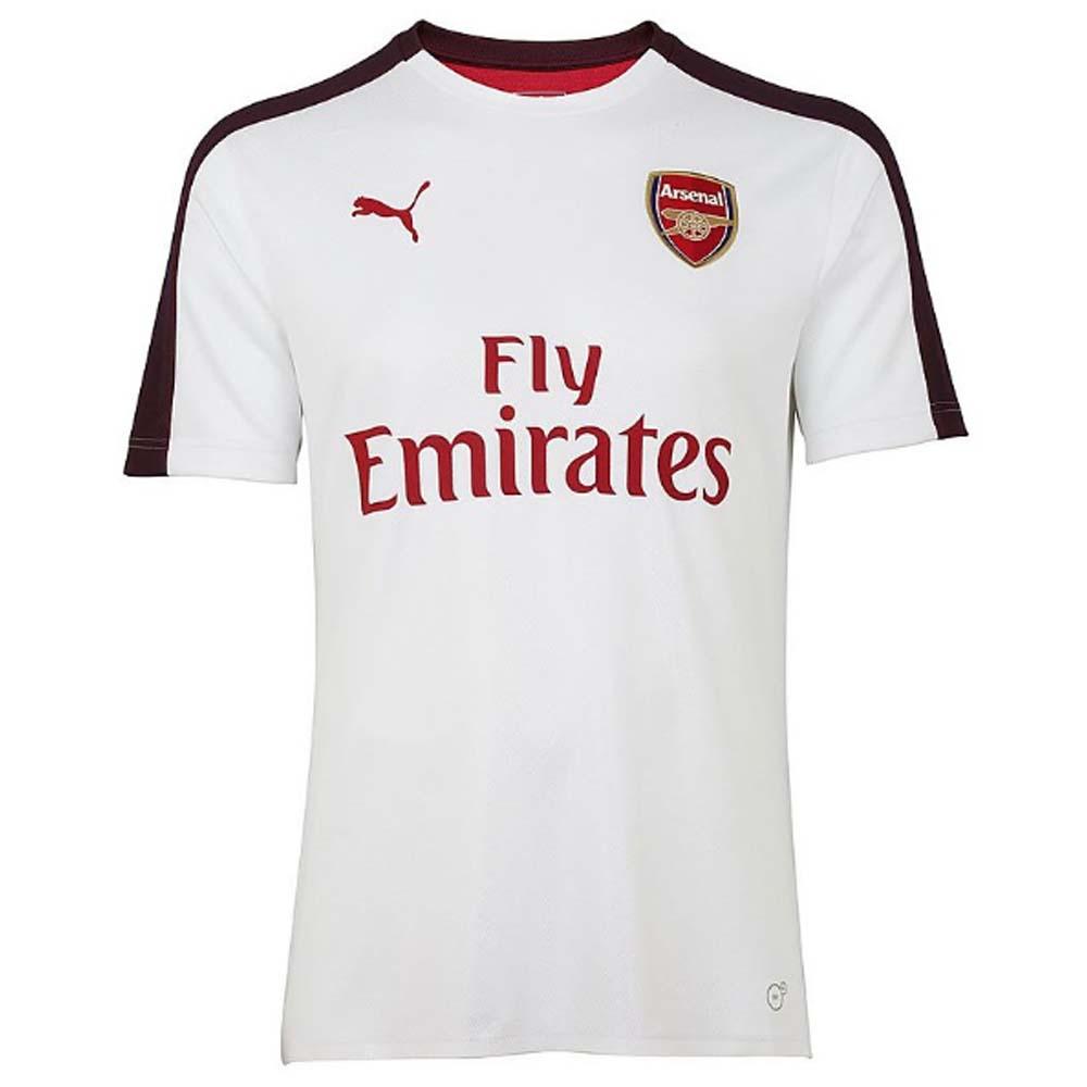 best website 32625 da121 2018-2019 Arsenal Puma Stadium Jersey (White)