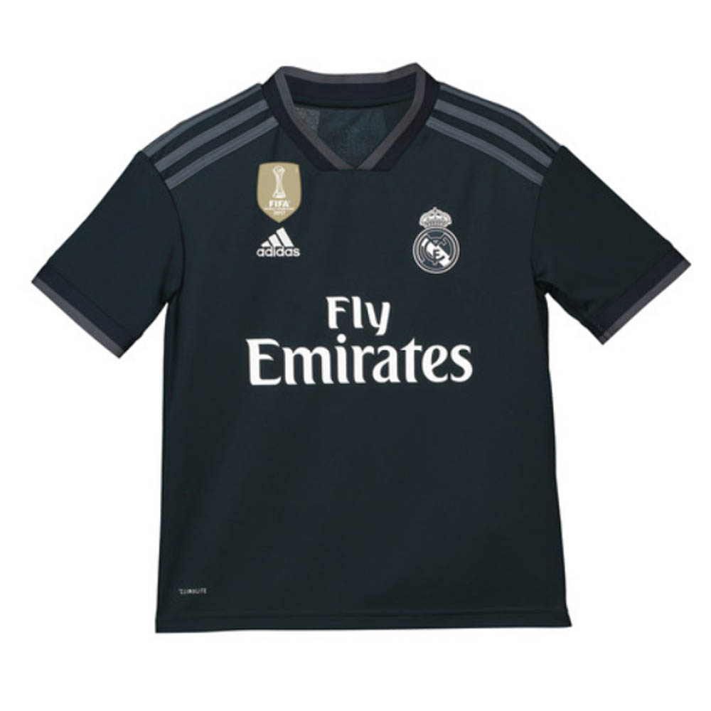 newest collection 6f4ad 66096 2018-2019 Real Madrid Adidas Away Shirt (Kids)