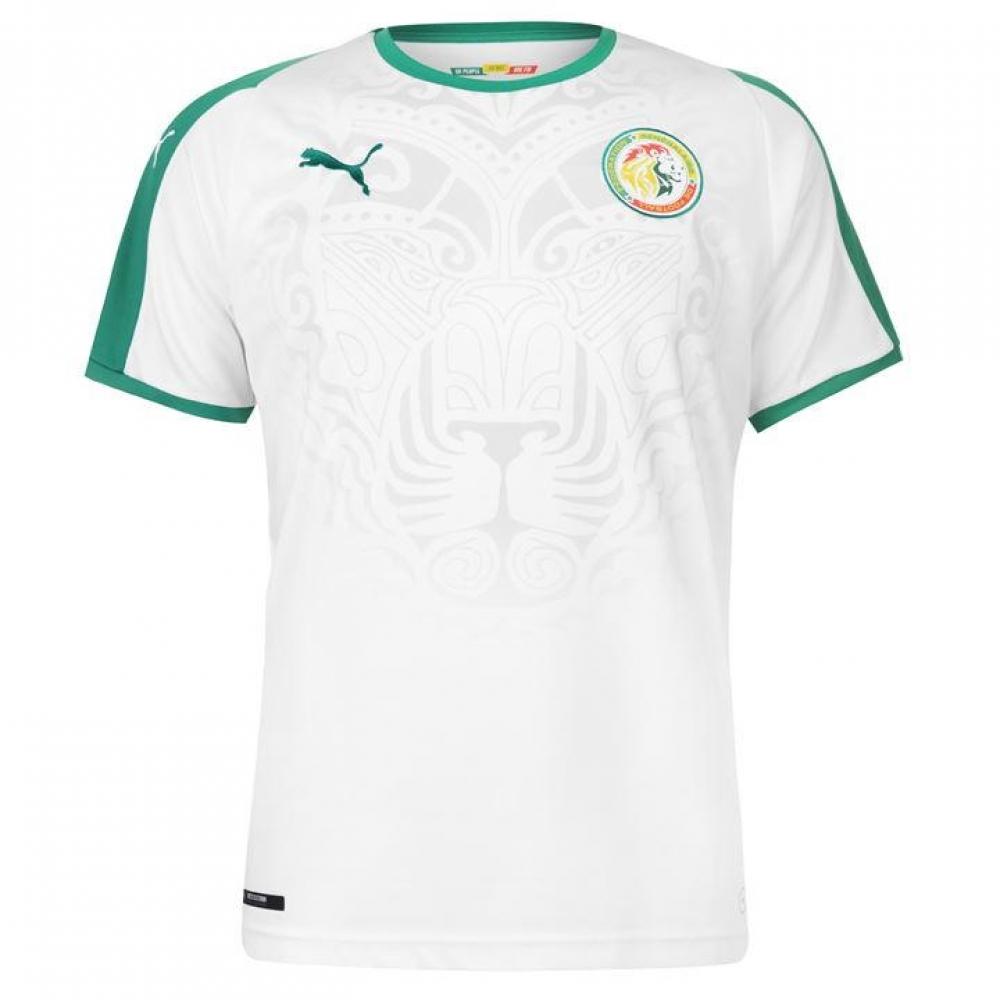 the best attitude cb93d 9f7e7 2018-2019 Senegal Home Puma Football Shirt